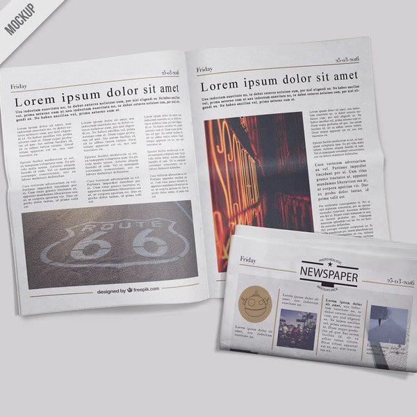 верстка газета