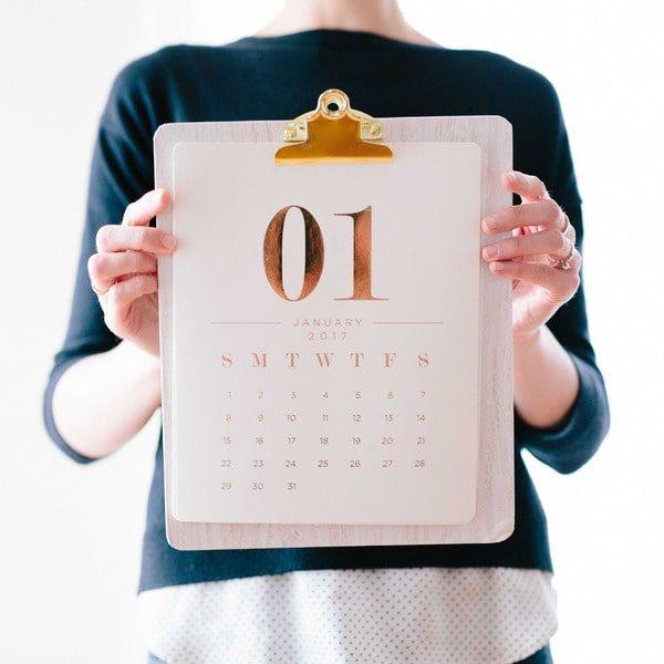 Дизайн календарів